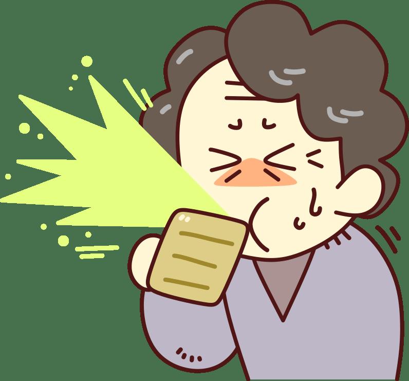 高齢者がむせる原因と対処法※嚥下障害と誤嚥性肺炎に注意!