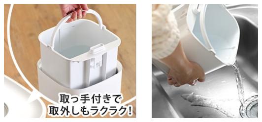 高齢者向け楽々給水【卓上ハイブリット加湿器】に嬉しいおまけ付き!