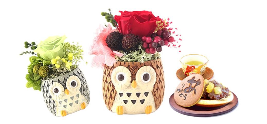 2020楽天で大人気!母の日に喜ばれるどら焼きとお花のプレゼント