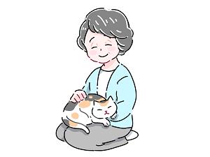 猫と高齢者