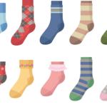 靴下のイラスト画像