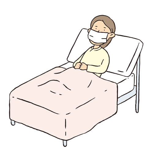 寝る時マスク