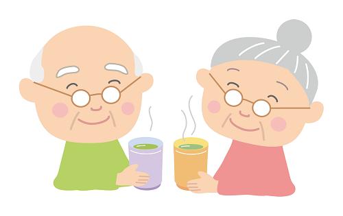 高齢者のイラスト画像
