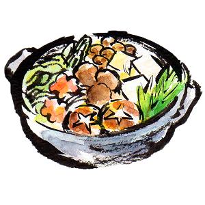 鍋のイラスト画像