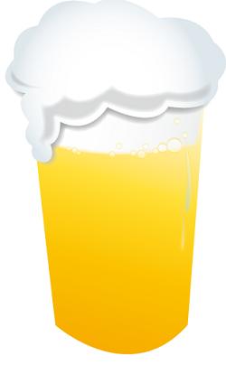ビールの泡 尿が泡立つ画像