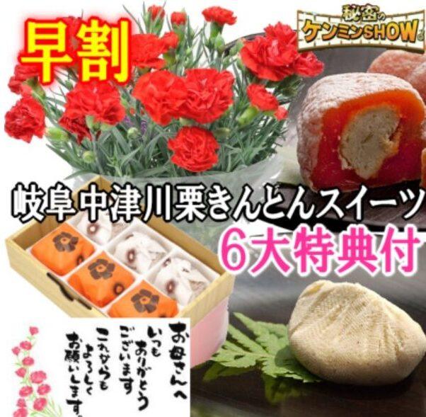 くり屋南陽軒 母の日 栗柿